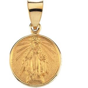 18K Miraculous Medal