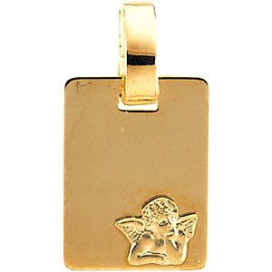 14K Angel Medal