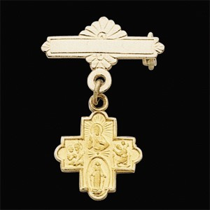 Gold Baptism Pin