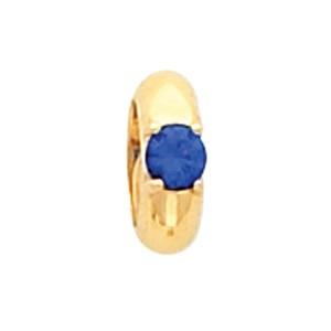Gold Birthstone Ring Pendant