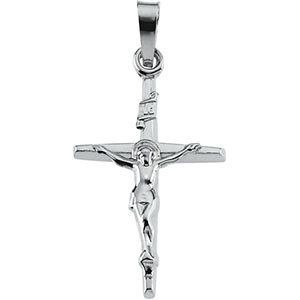 14KW Crucifix Pendant 21x14.5 mm