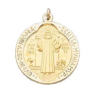 Gold St Benedict Medal