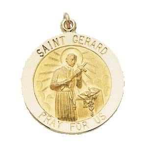 Gold St Gerard Medal