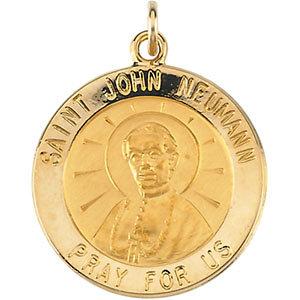 14K St John Neumann Medal Round