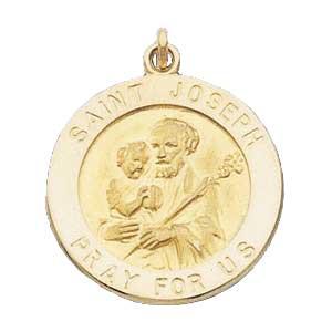Gold St Joseph Medal