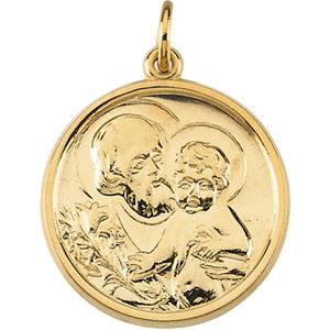 Gold St. Joseph Medal