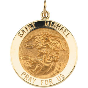 Gold St Michael Medal