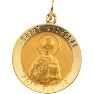 Gold St Nicholas Medal