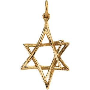 14k gold star of david pendant 2075x1525 mm aloadofball Images