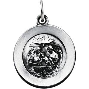 Silver Baptism Medal