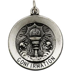 Silver Confirmation Medal