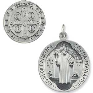 Silver St Benedict Medal