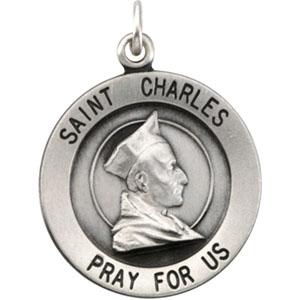 Silver St Charles Medal