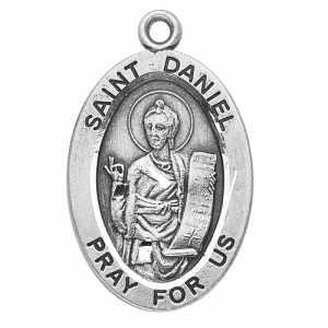 Silver St Daniel Medal Oval