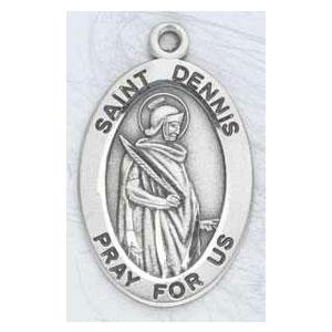 Silver St Dennis Medal Oval