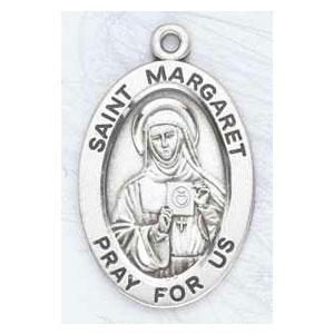 Silver St Margaret Medal Oval