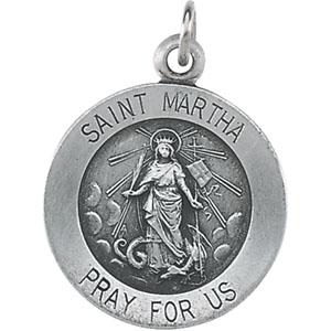 Silver St Martha Medal
