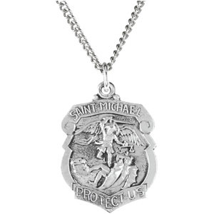 Silver St Michael Medal