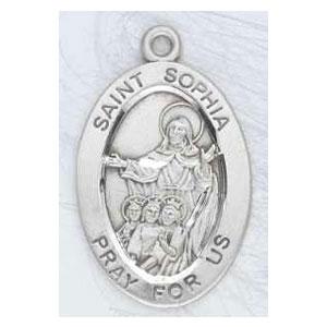 Silver St Sophia Medal Oval