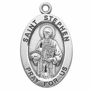 Silver St Stephen Medal Oval