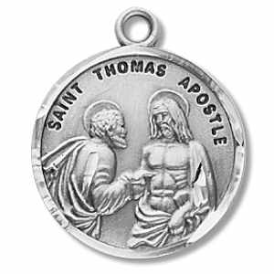 Silver St Thomas the Apostle Medal Round