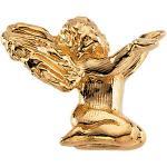 14K Gold Angel Kneeling Lapel Pin