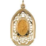 Gold 14K St. Christopher Medal