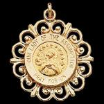 Gold Our Lady of the Assumption Medal