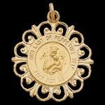 Gold Our Lady of Perpetual Help Medal
