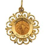 Gold St. Jude Thaddeus Medal