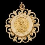 Gold St. Paul the Apostle Medal