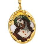 Porcelain Ecce Homo Medal