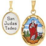 Porcelain St. Jude Medal