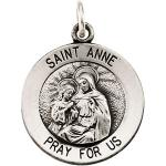 Silver St Anne de Beau Pre Medal