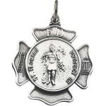 Silver St Florian Medal