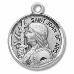 Silver St Joan of Arc Medal Round
