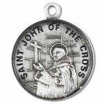 Silver St John of the Cross Medal