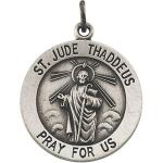 Silver St Jude Medal