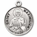 Silver St Maximillian Medal Round