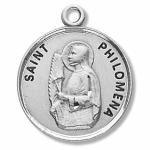 Silver St Philomena Medal Round