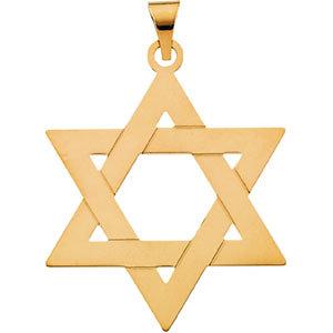 14k gold star of david pendantcharm aloadofball Images
