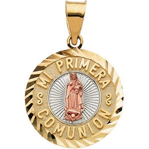 Tricolor Mi Primera Comunion Medal